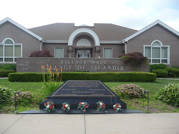 Village Hall in Islandia New York