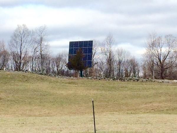 Solar power on the farm