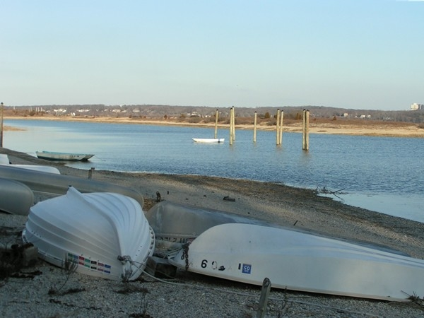 View of Stony Brook Harbor from Long Beach in Smithtown