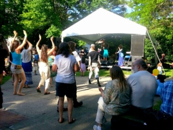 Ithaca Festival 2014: Dancing to live music is a major Ithaca activity