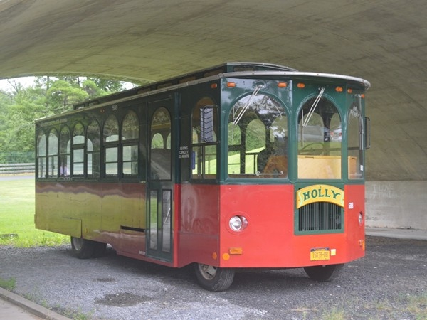 If you love to explore, this trolley is the way to go while visiting Ausable Chasm