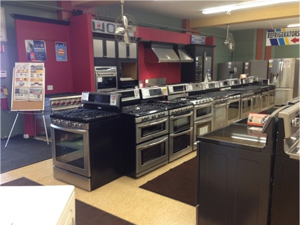 I've been buying appliances from Charlotte Appliance for over 25 years. Great prices and service.