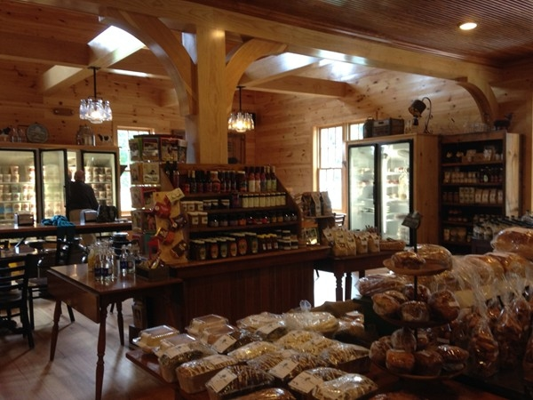 The interior of Pittsford Farms Dairy and Bakery!