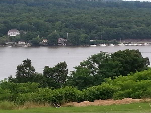 Hudson River in Esopus