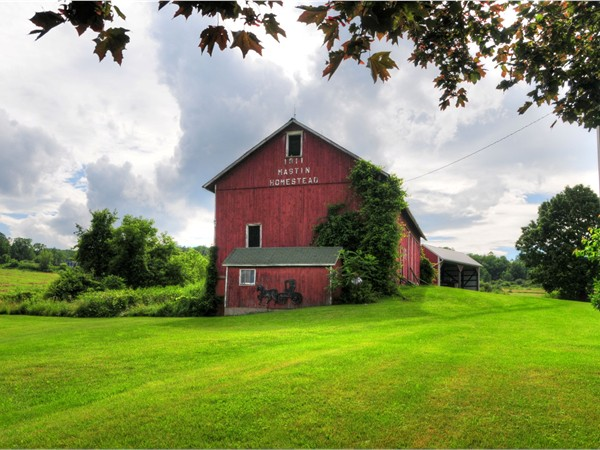 Rolling hills and rustic barns make for gorgeous scenery in the Finger Lakes Region