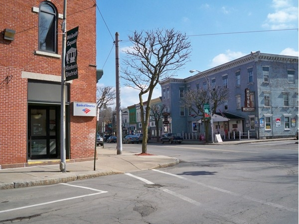 Business District on Main Street in the Village of Wolcott