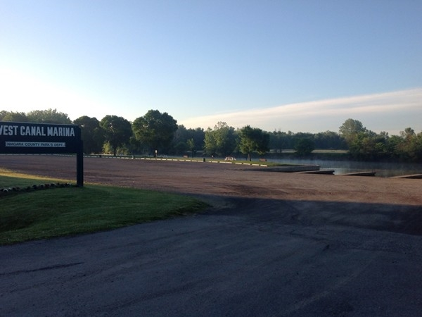 The West Canal Marina in Pendleton at daybreak. The boaters and kayakers will be here soon!