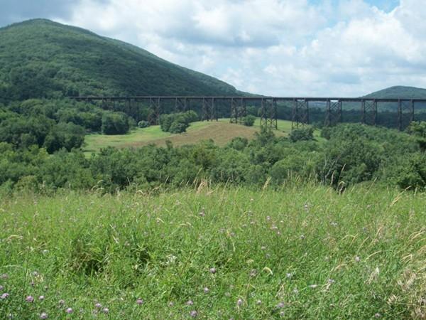 Salisbury Mills famous trestle view!