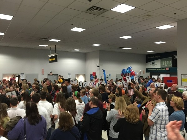 Hudson Valley Honor Flight Mission #7 - Welcome Home Reception