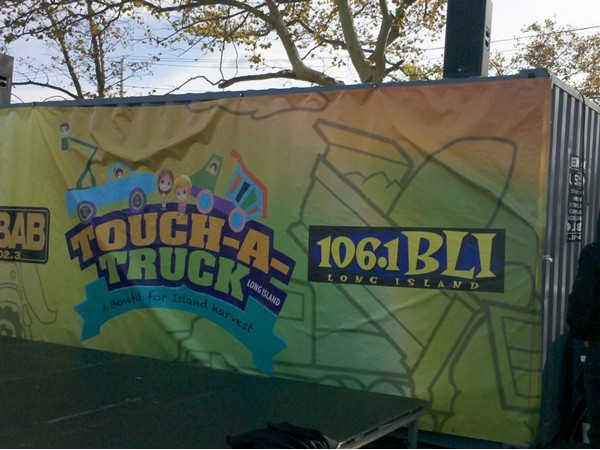 Co-sponsors of the event Touch a Truck