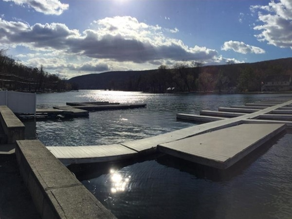View of Greenwood Lake from Emerald Point