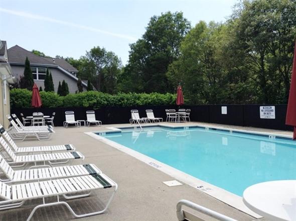 Community pool at Three Village Green