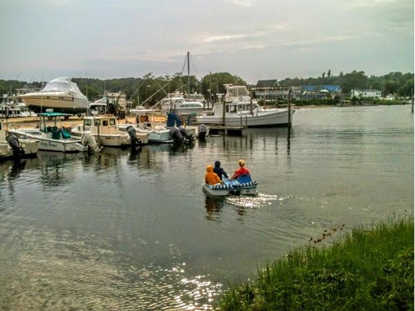 Pedal boat, Hampton Bays