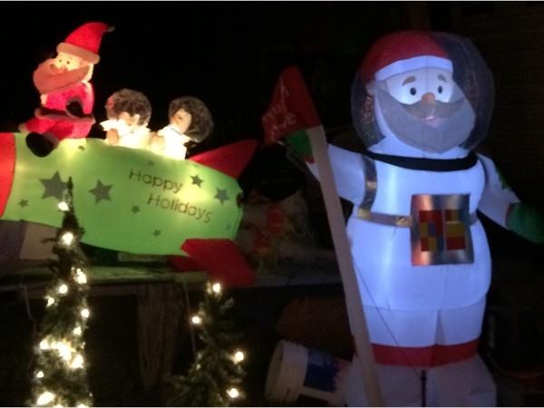 Drive throught at Watt Christmas Wonderland in Goshen