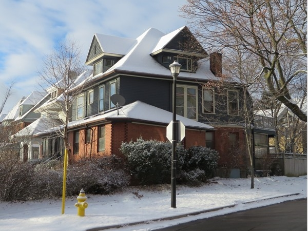 One of the grand homes built in the 1890's in the South Wedge