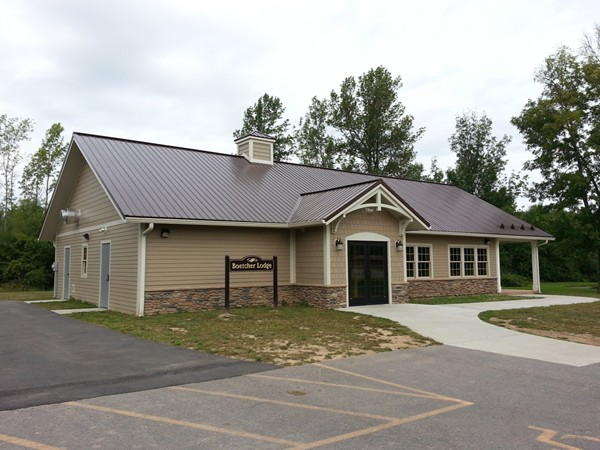 The new Boetcher Lodge in Pineway.  Named for Glenn Boetcher