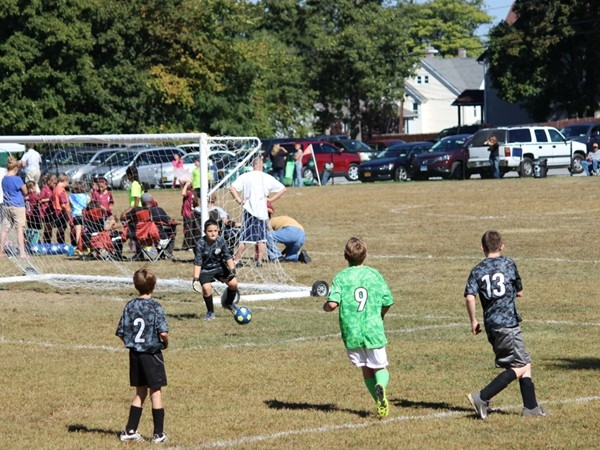 Cornwall Recreational Soccer is played on Saturday's at Laurel Crest Park in Quaker Mill