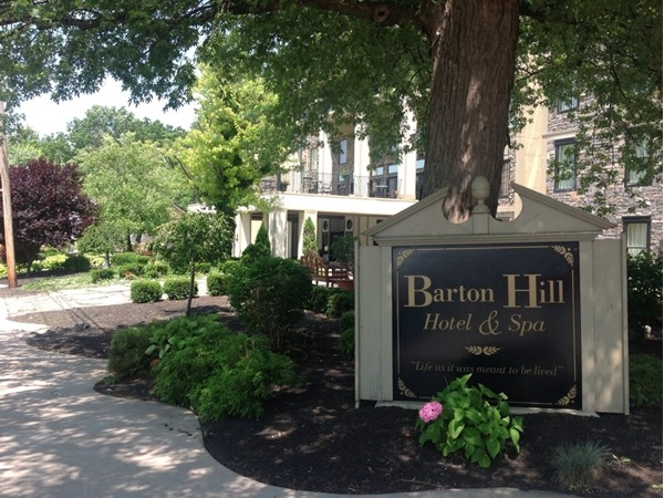 Barton Hill Hotel & Spa. A charming place to stay for pampering or a couples retreat