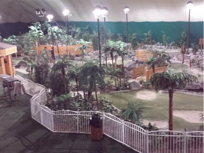 Its Never Too Cold For Mini Golf At The Paddock Golf Dome