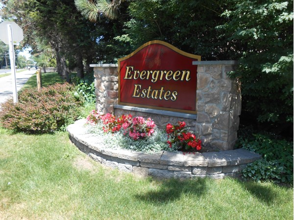 Evergreen Estates - located right off Moe Road, a nice mix of different housing styles