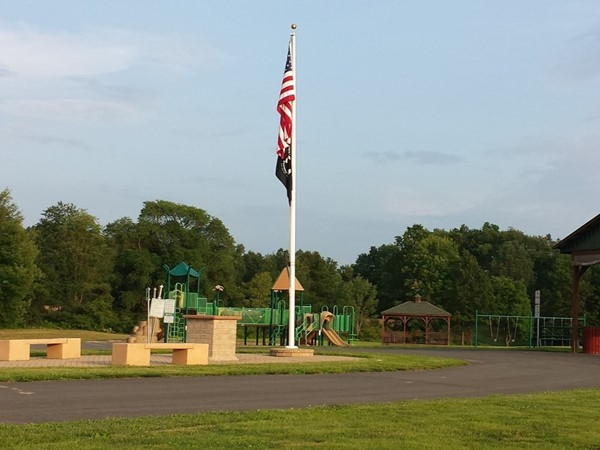 Playground at Campbell Hall Town Park