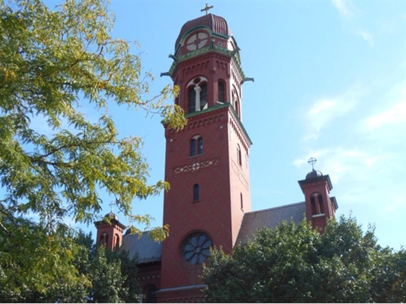 St. Stanislaus Catholic Church is located at 1124 Hudson Ave. They are very active in the community