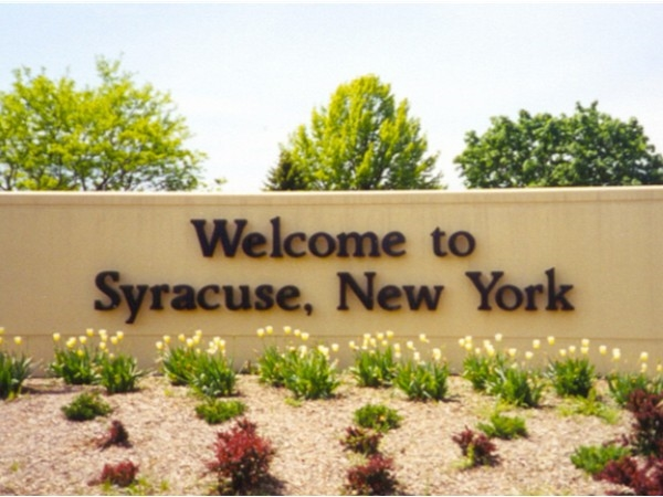 Welcome to Syracuse, NY. Such a wonderful place to call home