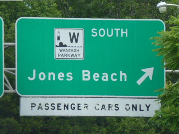 On your way to Jones Beach!