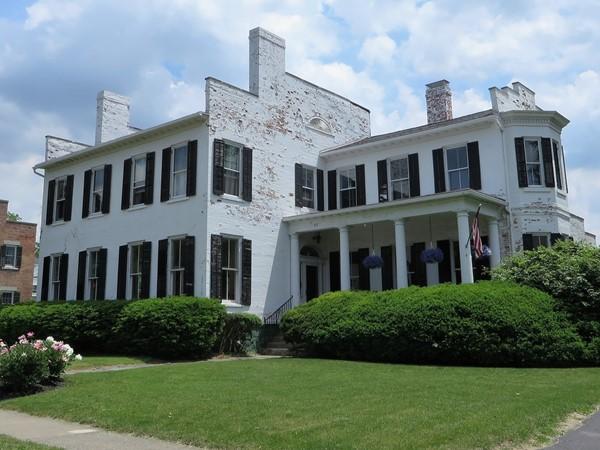 100+ year old brick mansion on Gibson Street