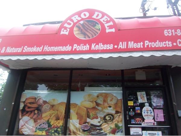 Polish food in Copiague.