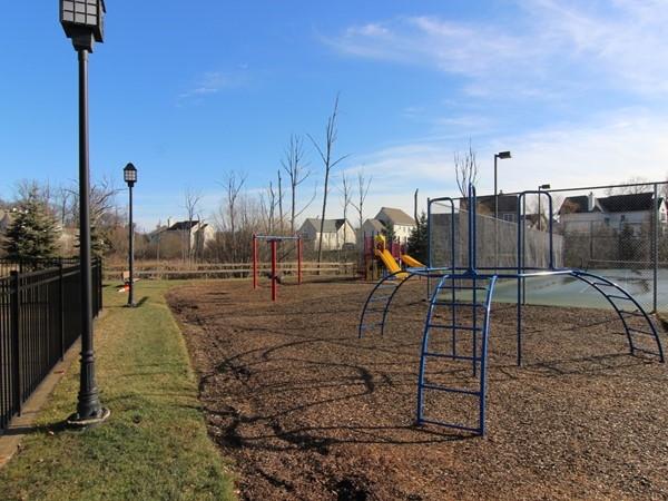 The children's playground at Brigadoon