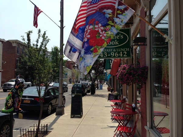 Enjoy a delicious lunch in this unqiue downtown area of Catskill