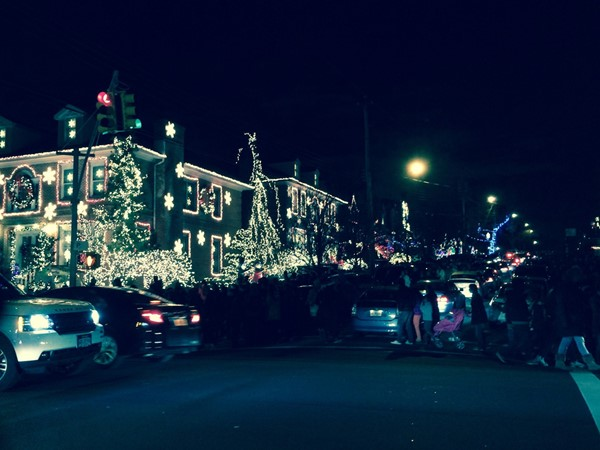 Christmas time in Dyker is a magical place