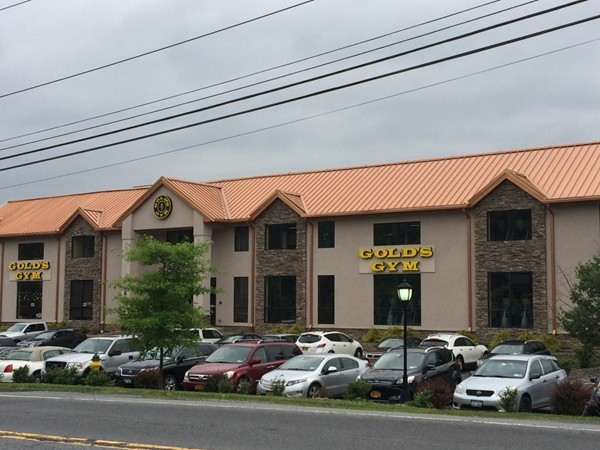 The New Gold's Gym in Harriman