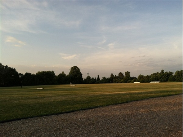 Thornell Road Elementary School. Great land for sports and recreation at Pittsford schools