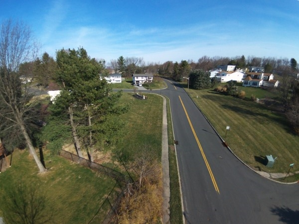 Aerial view in Overlook Estates. Less than a mile from the center of the Village of Monroe