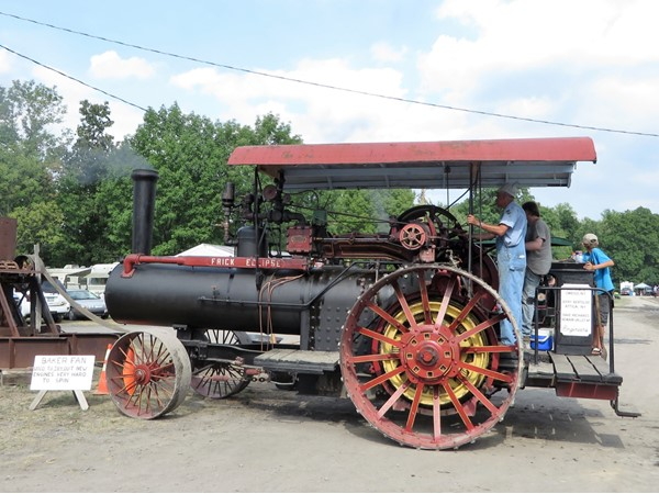 The Annual Steam Engine Tractor Festival in Canandaigua is a peek back in history