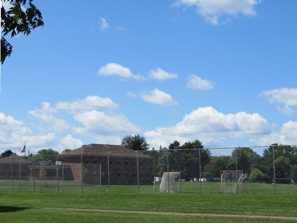 Henrietta School Administration building on Calkins Road