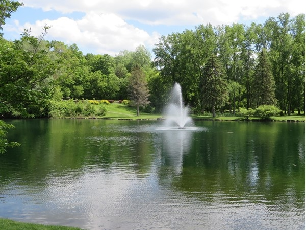 Shadow Lake in late spring in Penfield