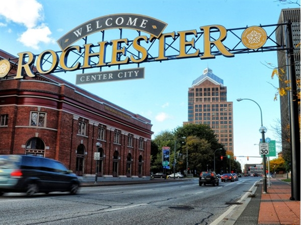 Welcome to Rochester's Center City