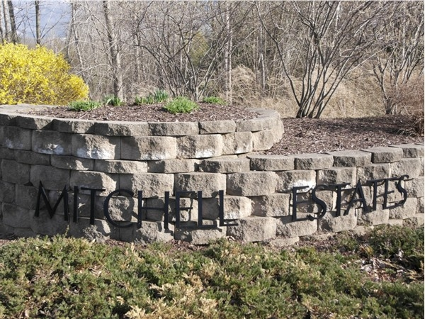 Mitchell Estates is a safe environment with many beautiful homes