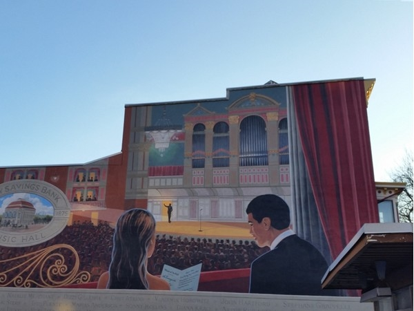 The Troy Savings Bank Music Hall mural