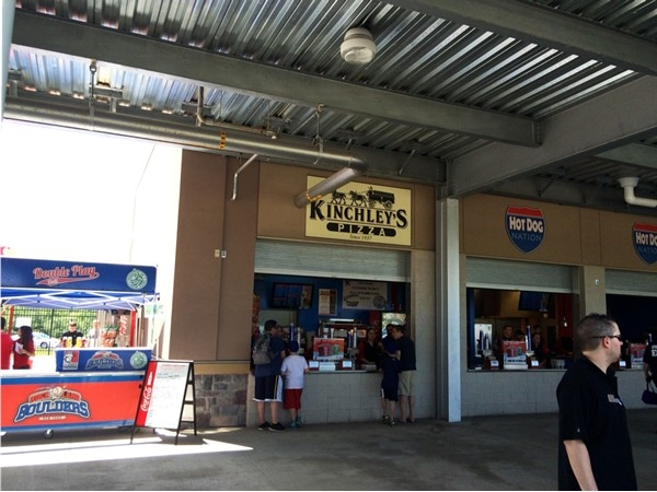 Yes! Kinley's is here! Only the greatest pizza ever at Provident Bank Park in Pomona