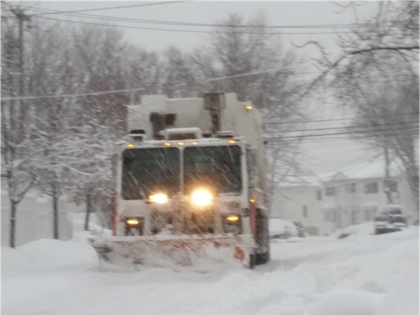 Clearing the streets in Annandale