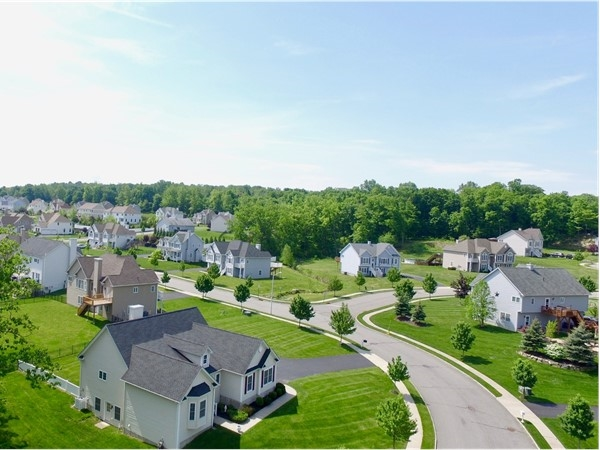 Newer homes in Monroe built by Lennar Homes