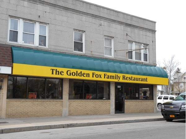 The Golden Fox on the corner of Parsells and Culver offers the best meal in town
