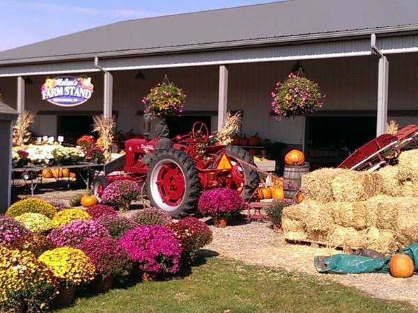 Helen's Farm Stand is a popular stop for locals
