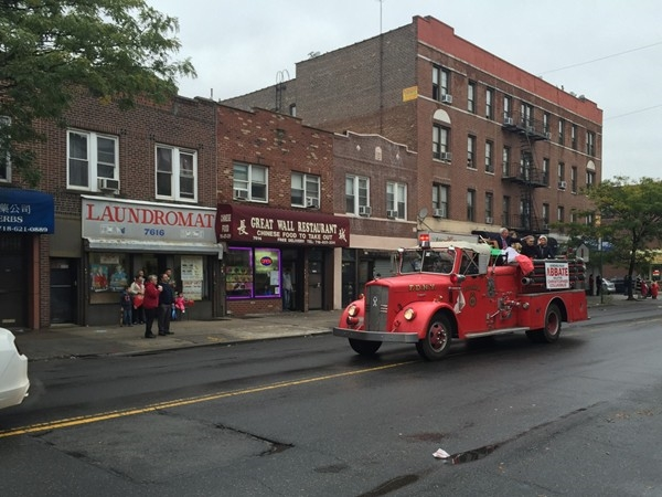 A wonderful yearly tradition, the 18th avenue Columbus Day Parade in Bensonhurst!