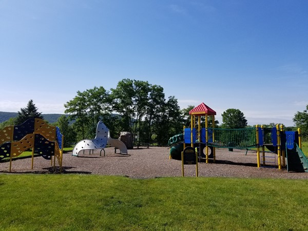 Playground at Memorial Park in Washingtonville