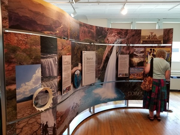 Smithsonian Water/Ways Exhibition at the Erie Canal Museum until August 17th